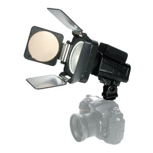 Dorr FLP 56 Camera Flash and LED Video Light Head