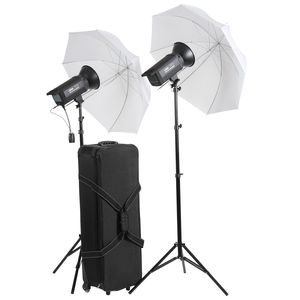Dorr Professional Studio Kit A DPS Touch 300 Watt Studio Flash