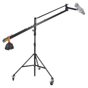 Dorr FD2 Mobile Light Stand with Boom For Flash Heads