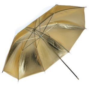 Dorr URN-48GW Gold and White Reflection Umbrella 372511