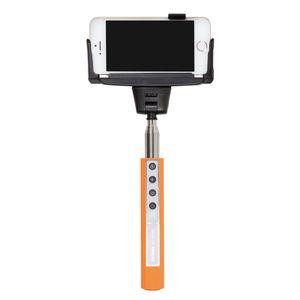 Dorr SF-100RC Orange Selfie Stick with Built-in Bluetooth