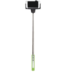 Dorr SF-100RC Green Selfie Stick with Built-in Bluetooth