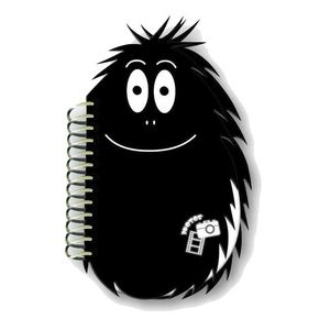 Barbapapa Black 6x4 Slip In Photo Album 80 Photos
