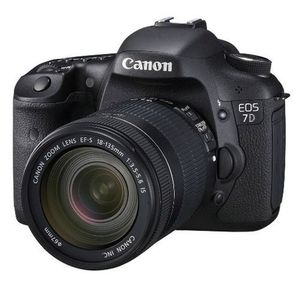 Canon EOS 7D Digital SLR Camera and 18-135mm IS Lens Kit