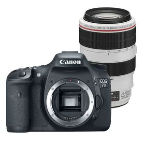 Canon EOS 7D Digital SLR Camera and 70-300mm L IS Lens Kit