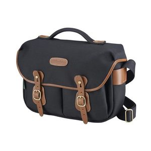 Billingham Hadley Pro Black and Tan Canvas Camera Bag