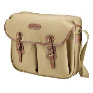 Billingham Hadley Large Khaki and Tan Canvas Camera Bag