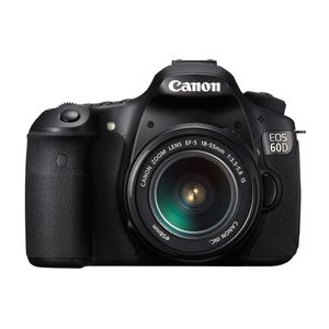 Canon EOS 60D Digital SLR Camera and 18-55 IS Lens