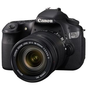 Canon EOS 60D Digital SLR Camera and 18-135 IS Lens Kit
