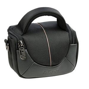 Dorr Yuma Extra Small DSLR Camera Bag - Black and Silver
