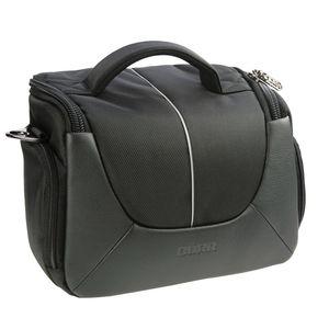 Dorr Yuma Large DSLR Camera Bag - Black and Silver