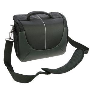Dorr Yuma Extra Large DSLR Camera Bag - Black and Silver