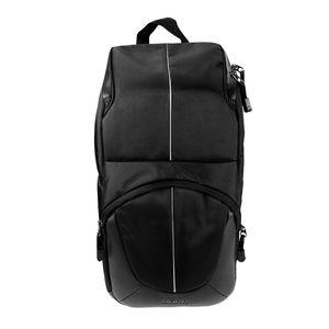 Dorr Yuma Sling Bag - Black and Silver