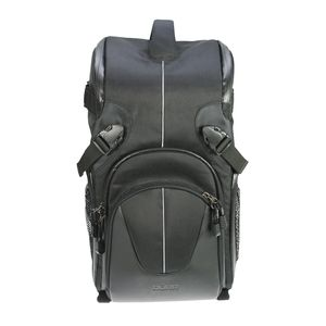 Dorr Yuma Double Sling Backpack - Black and Silver