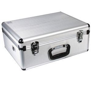 Dorr 305-V1 Silver Video Aluminium Case - 46x34x19cm