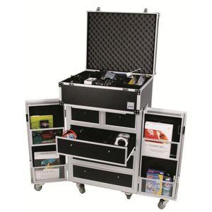 Dorr Mobile Studio Cabinet Extra Large on Wheels Portable Unit