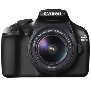 Canon EOS 1100D Digital SLR Camera and 18-55mm IS Mark II Lens Kit