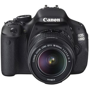 Canon EOS 600D Digital SLR Camera and 18-55mm IS Mark II Lens Kit
