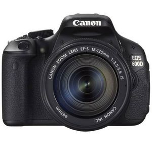 Canon EOS 600D Digital SLR Camera and 18-135mm IS Lens Kit
