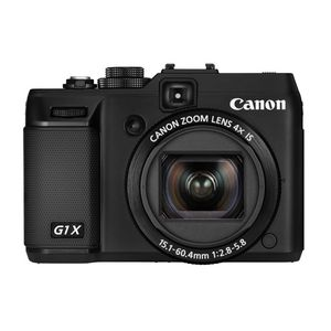 Canon PowerShot G1 X Black Digital Camera
