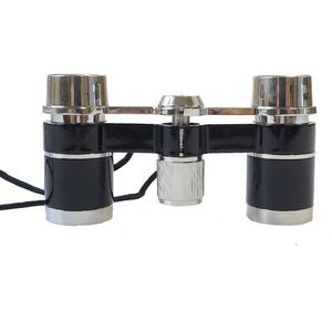Danubia Opera 3x25mm Silver and Black Binoculars