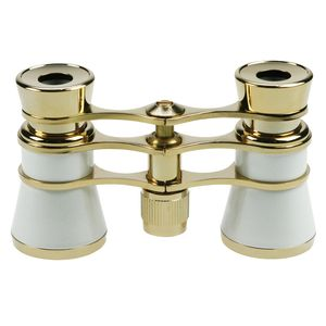 Danubia Opera 3.5x25mm Pearl and Gold Binoculars