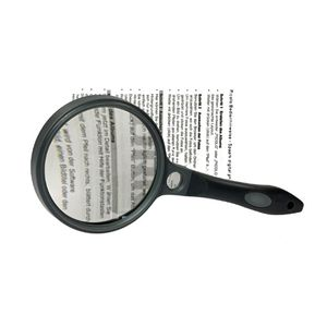 Dorr Dual 3x85mm and 6x15mm Reading Magnifier Glass