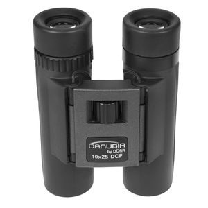 Danubia 40 10x25 Black / Grey Pocket Binoculars