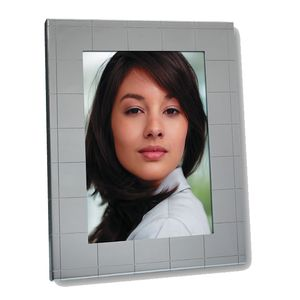 Laura Silver Square 7x5 Photo Frame