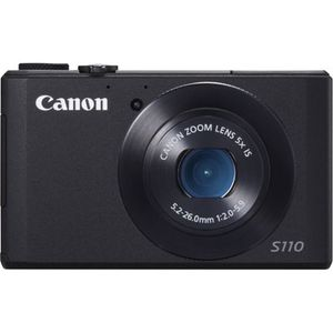 Canon PowerShot S110 Black Digital Compact Camera