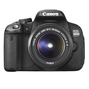 Canon EOS 650D Digital SLR Camera and 18-55mm MKII Lens Kit