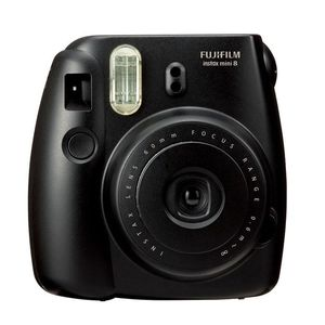 Fujifilm Black Instax Mini 8 Instant Camera Inc 10 Shots