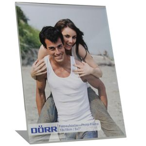 Free Standing Portrait Acrylic Photo Frame for 7x5 Photo