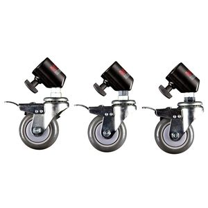 Multiblitz Wheels with Brakes - Set of Three