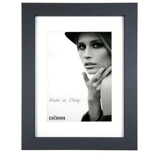 Dorr Bloc Black 12x8 inch Wood Photo Frame with an 8x6 inch insert