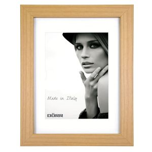 Dorr Bloc Natural 12x8 inches Wood Photo Frame with an 8x6 inch insert