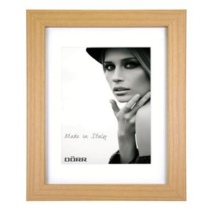 Dorr Bloc Natural 16x12 inches Wood Photo Frame with 12x8 inch insert