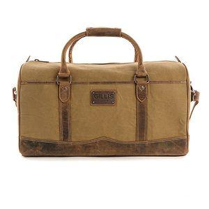 Gillis Trafalgar Duffle Bag Wax Canvas Camera Bag