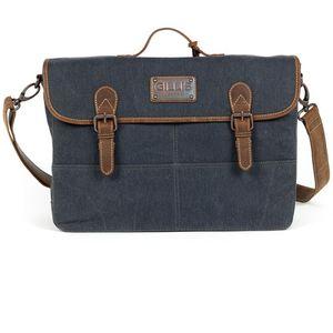 Gillis Trafalgar Blue Satchel Wax Canvas Camera Bag