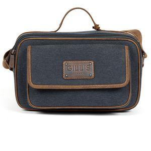 Gillis Trafalgar Blue Mini Canvas Camera Bag