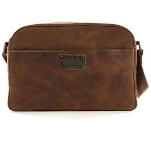 Gillis Trafalgar Vintage Leather Camera Bag Shoulder Style