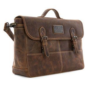 Gillis Trafalgar Leather Camera Bag Satchel Style