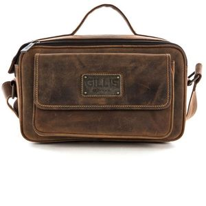 Gillis Trafalgar Mini Leather Camera Bag