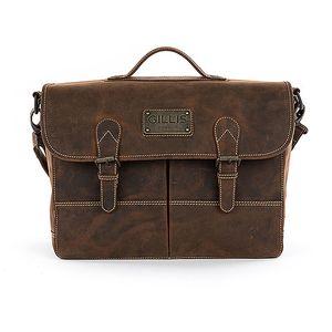 Gillis Trafalgar Attache Leather Camera Bag