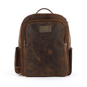 Gillis Trafalger Leather Sling Camera Backpack