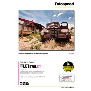 Fotospeed PF Lustre Photo Media 6x4 Paper 275gsm - 100 Sheets