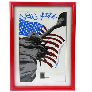 New York Red 8x6 Photo Frame