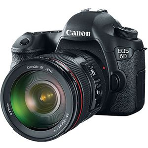 Canon EOS 6D Digital SLR Camera and EF 24-105mm f4 L IS USM Lens