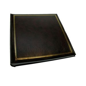 Classic Brown Traditional Photo Album - 100 Sides