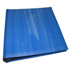 Cloud Blue Traditional Photo Album - 100 Black Sides